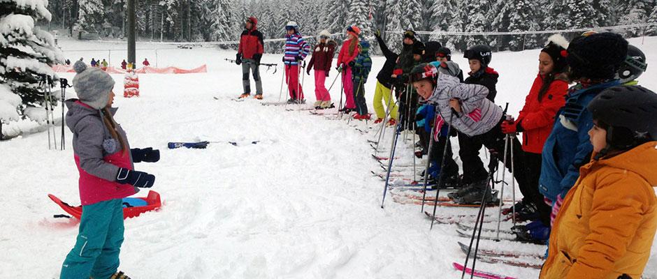 Детски ски лагер на Мальовица