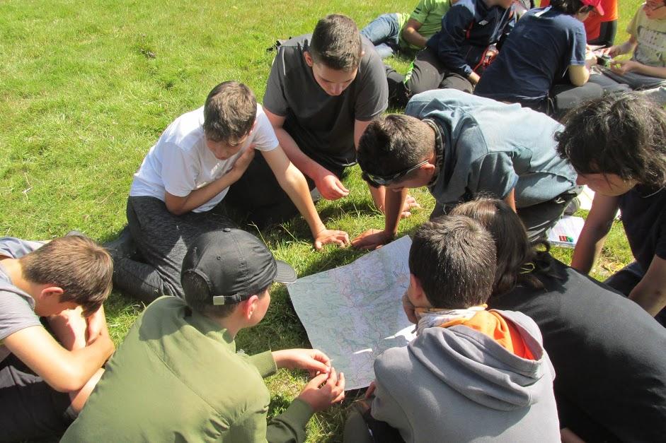 Детски лагер Стара планина - карта и компас