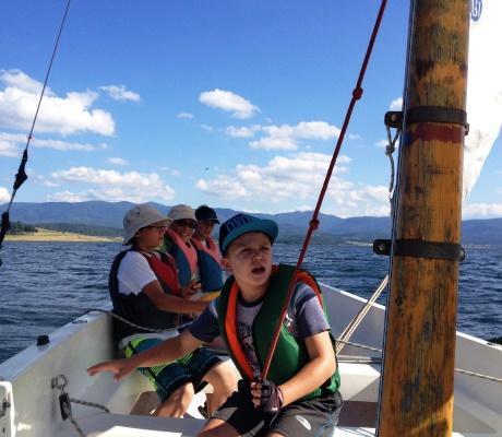 С колела и лодки по вятъра, 18-24 юли